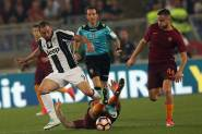 14.05.2017. Stadio Olimpico, Rome, Italy. Serie A Football. A.s. Roma versus Juventus. Higuain in action during the match.